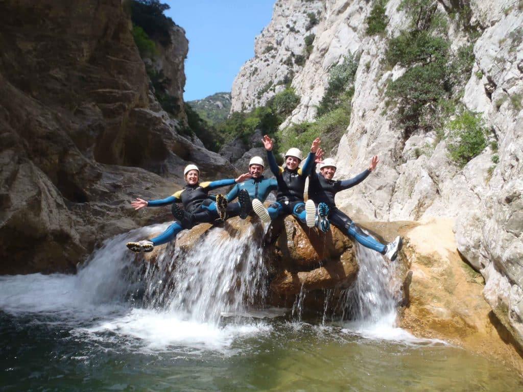 canyoning aux gorges de galamus saint Paul