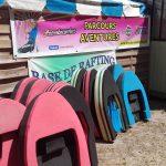 Flotteurs d'Hydrospeed pour séance sur l'Aude